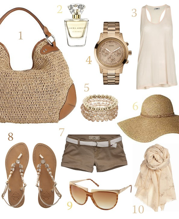 beige travel essential