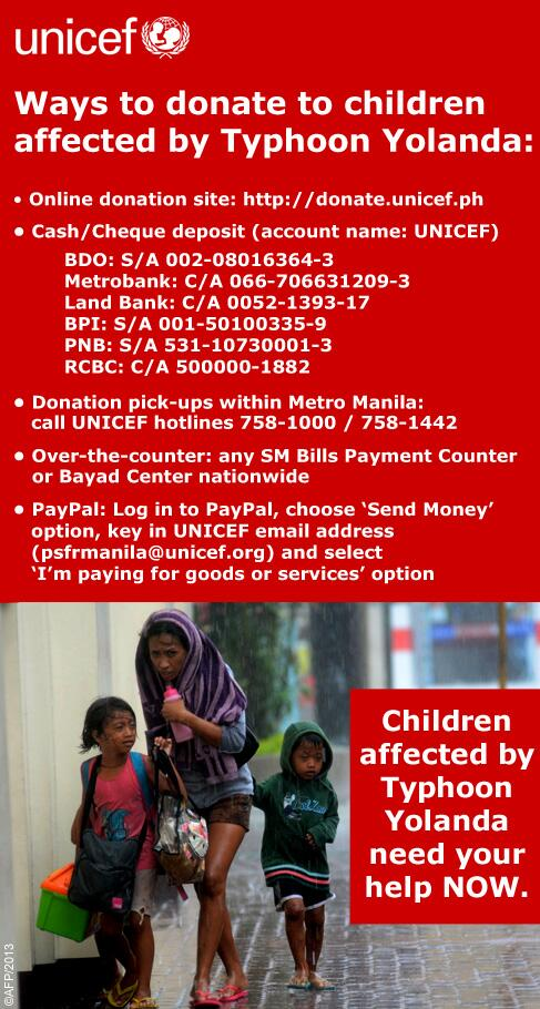 How to Help the Victims of Typhoon Yolanda in the Philippines ...