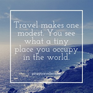 PinayTraveller travel quote
